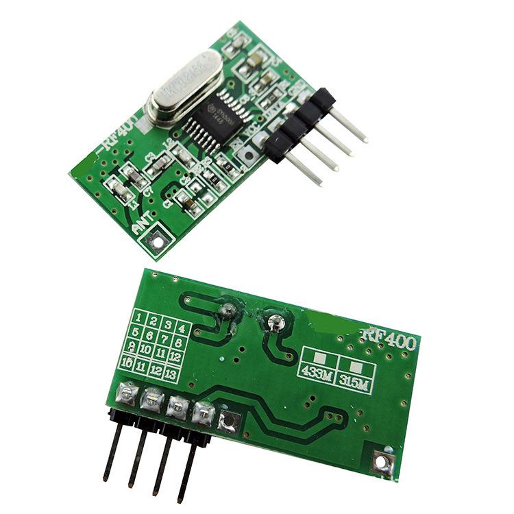 无线遥控器学习型接收模块刷卡锁遥控模块无线遥控模块厂家直销
