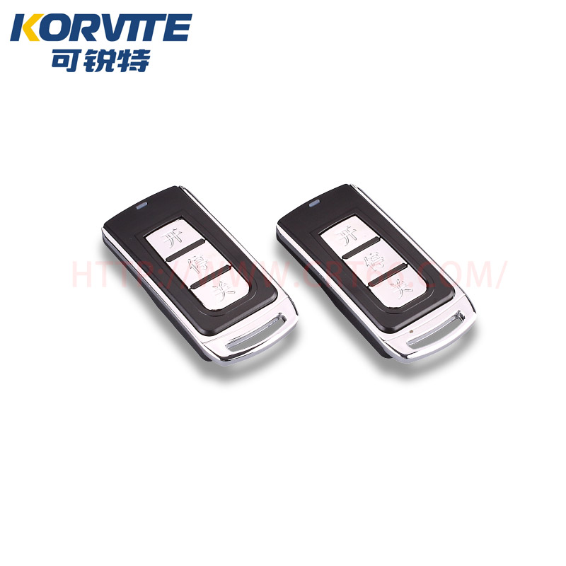 厂家生产电动门平移门伸缩门遥控器道闸无线遥控器可锐特遥控器